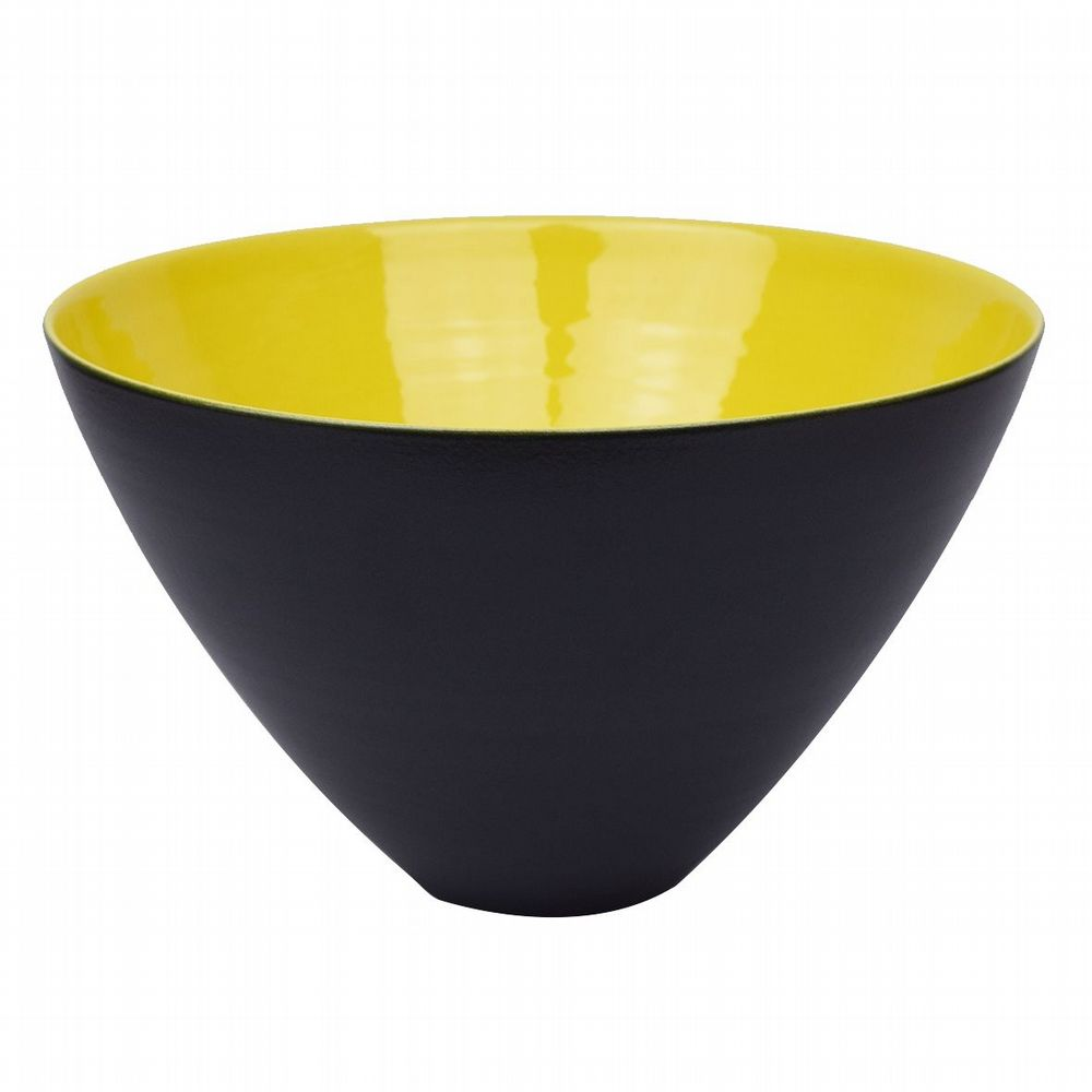 Conical Bowl - Large - Yellow